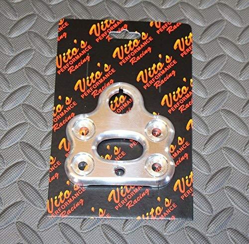 (Vito's Billet Aluminum Handlebar Clamp Yamaha Banshee Steering Stem 1987-2006)