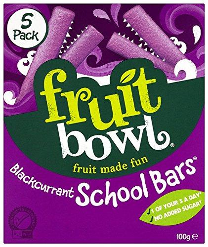 Fruit Bowl School Bars Blackcurrant 100 g (Pack of 6)