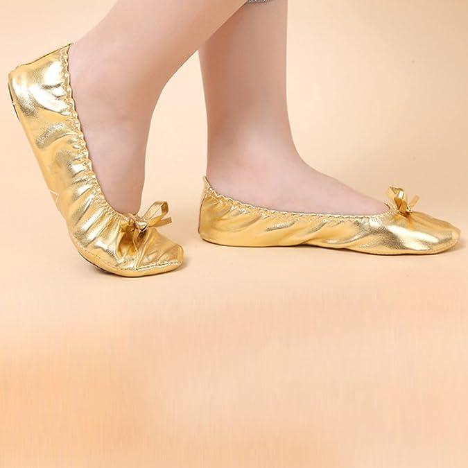 Amazon.com: BOZEVON Children Girls Ladies Leather Ballet Dance Shoes Yoga Shoes: Shoes