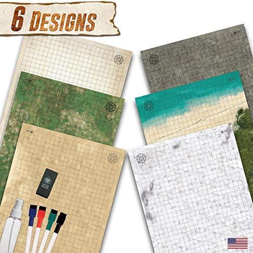 melee mats erase battle board product image