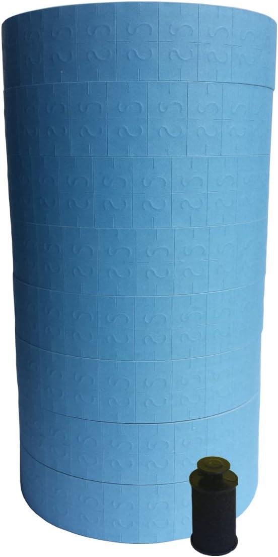 Monarch 1131 Label Gun, Blue Labels , 8 Rolls, 20,000 Labels