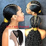 Best Hair Extension Ponytail Real Hairs - Feelgrace Kinky Curly Ponytail Hair Extensions Ponytail Curly Review