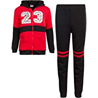 Coney Island Boys' 2-Piece Athletic Fleece Jogger Pant Set with Fully Lined Sherpa Jacket
