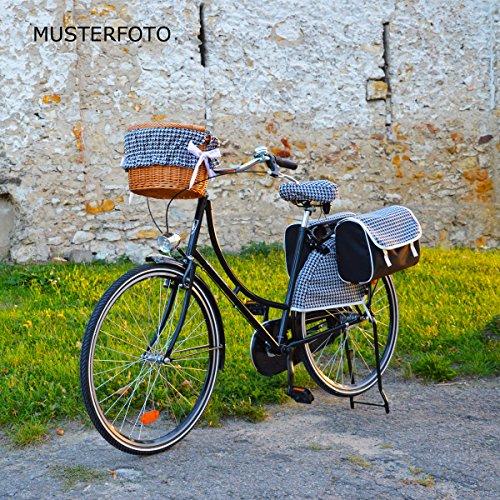 C-BAGS INDYGO double PEPITKA 311.001 Fahrradtasche Gepäckträger 2-er Set black