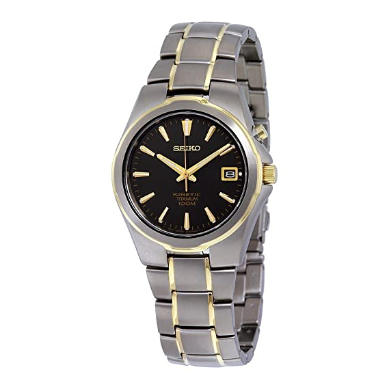 Amazon.com: Seiko SKA214P1 Men Kinetic Titanium,100m Water Resistant,Brand New,SKA214: Watches