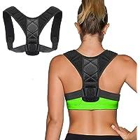 GYL Hong Yuan Haltungstrainer,Geradehalter zur Haltungskorrektur Rückentrainer Schulter Rückenstütze,Schultergurt gegen Nacken -und Schulterschmerzen für gerader Rücken für Damen Herren