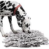 BLEVET Pet Training Snuffling Mat Dog Mat Slow Feeding Mat for Dogs Training Feeding Foraging Skill Puzzle Toys AU-IE075…