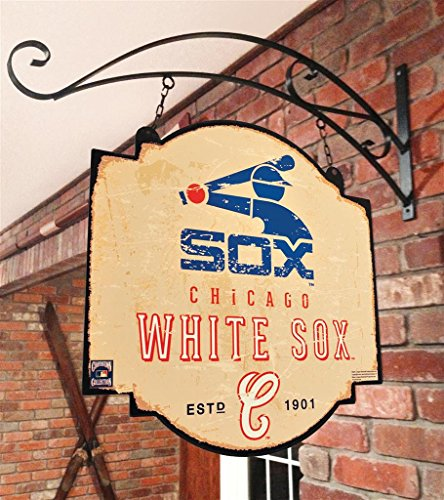 MLB Chicago White Sox Tavern Sign, One Size, Blue