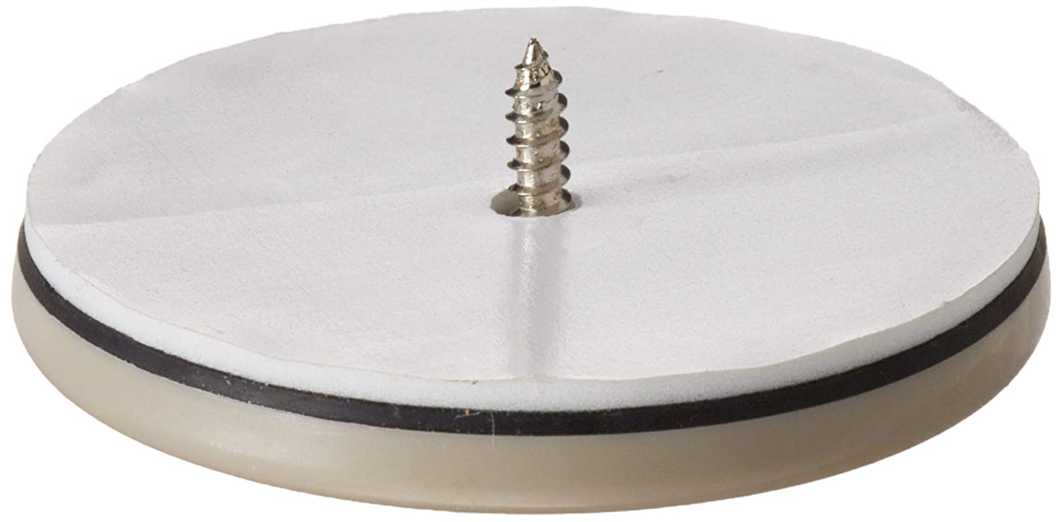 Shepherd Hardware 9454 2-1/2-Inch Round, Adhesive Slide Glide Furniture Sliders, 4-Pack