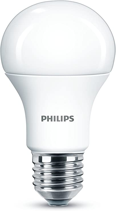 Image ofPhilips LED Bombilla estandar mate de 5W (40W) casquillo gordo E27, luz día fría 6500K,no regulable           [Clase de eficiencia energética A]