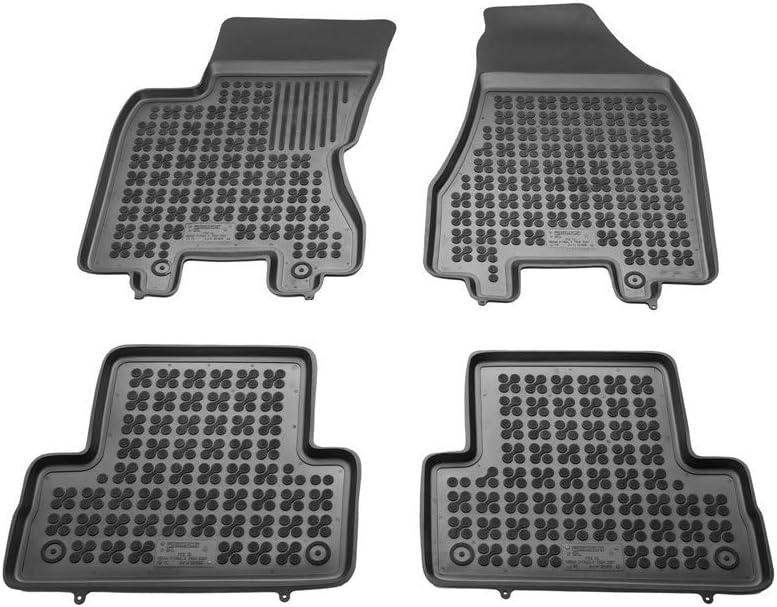 Bac sur Mesure Antid/érapant avec Rebords 5 cm MTM Tapis de Sol X-Trail II T31 cod 06.2007-07.2014 en Caoutchouc 3D 5566