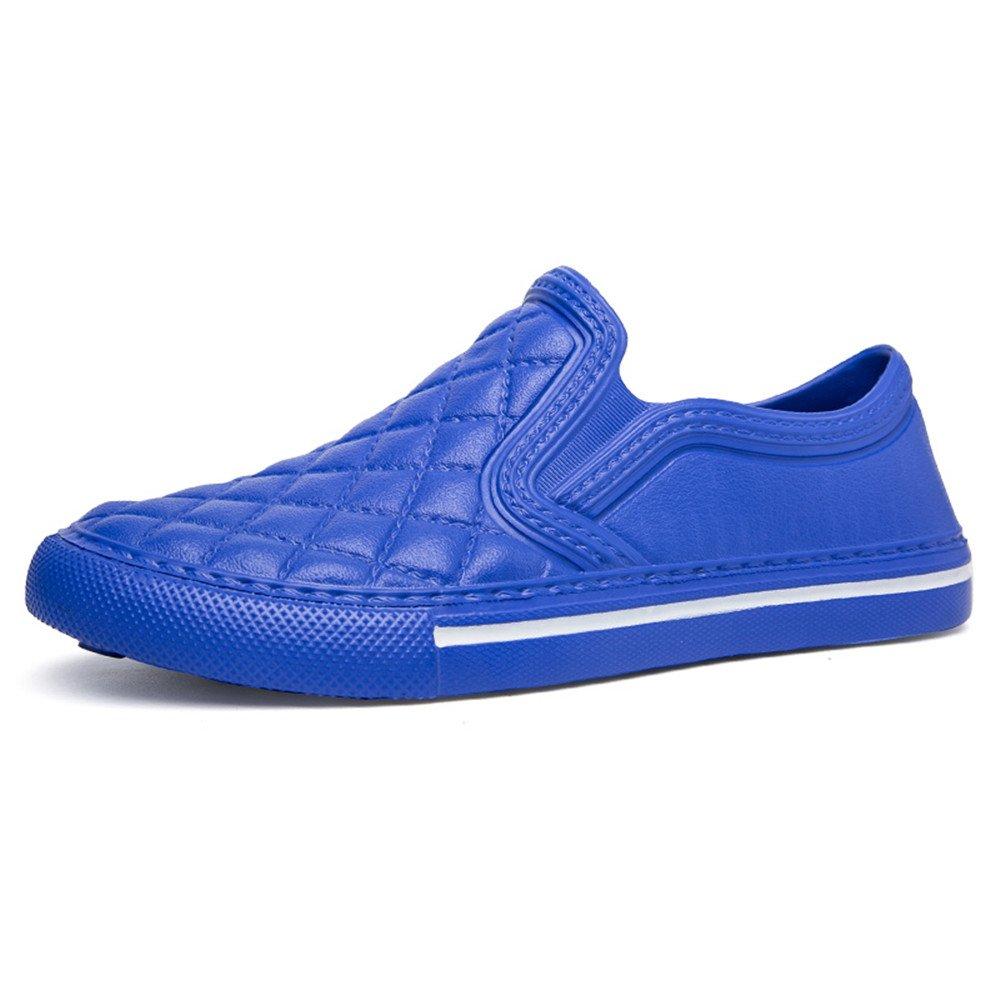 Vinstoken Loafers Uomo Donna Basse da Sportive Estive Casuale Leggero Mocassini Slip On Nero Bianche Blu 36-45  Blu(modello Sottile,scegli 1-2 Dimensioni)