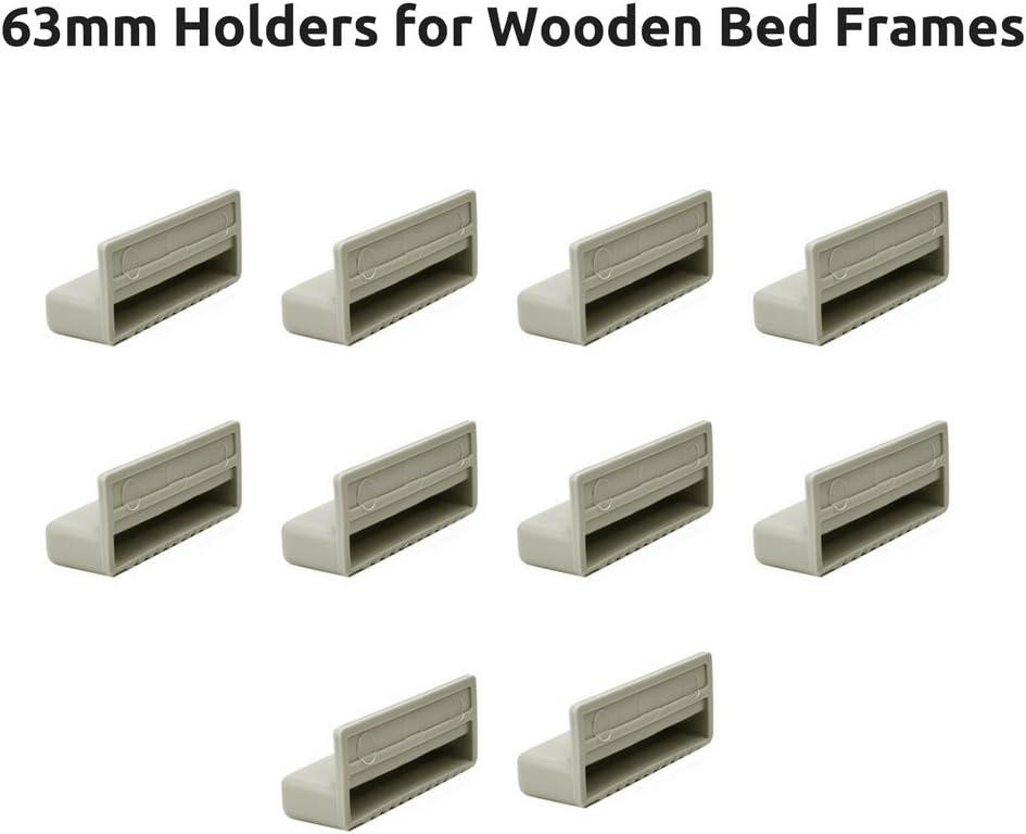 Tapas de soportes para listones de cama individual, Marcos de ...
