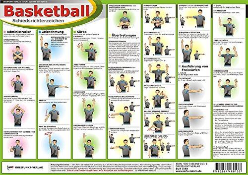 Basketball - Schiedsrichterzeichen Landkarte Michael Schulze Schulze Media 3864480132 Ballsport