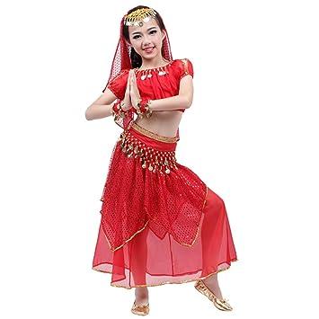 Traje de baile para niños en la India Traje de disfraces ...