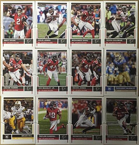 - 2017 Panini Score Football Atlanta Falcons Team Set 12 Cards W/Rookies