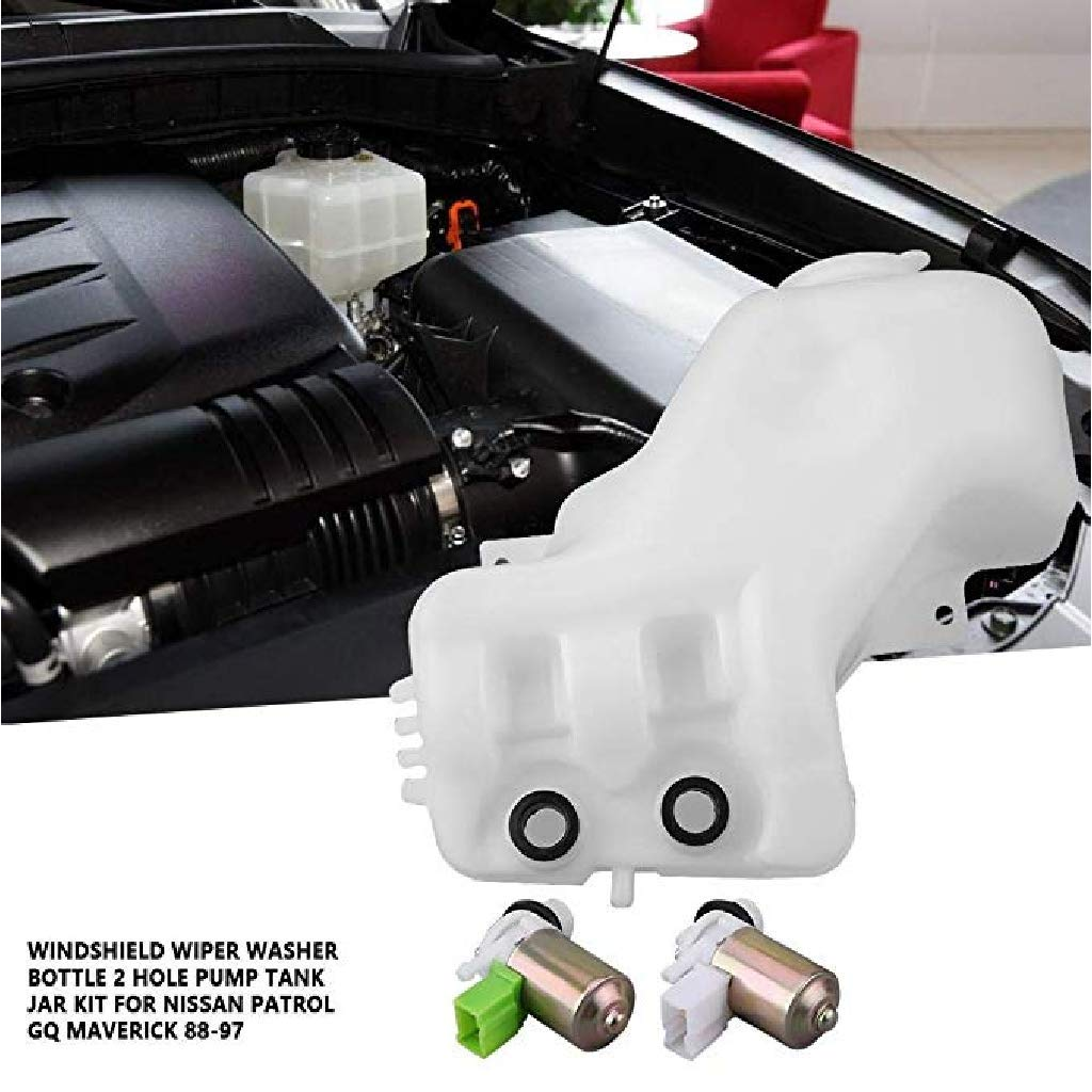 Homyl Kit de Bomba de Botella de Lavaparabrisas para Automóviles, de ...