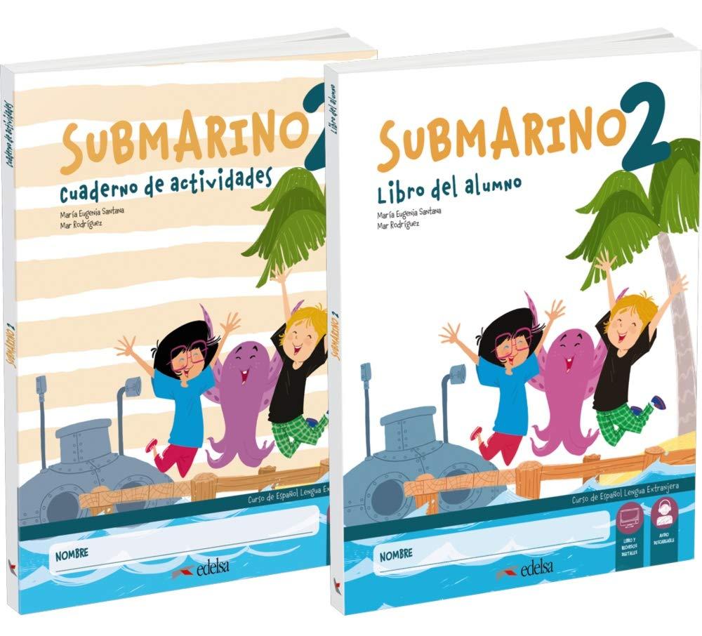 Submarino 2. Pack Libro del alumno + cuaderno de ejercicios Métodos - Niños - Submarino: Amazon.es: Santana Rollán, Mª Eugenia, Rodríguez, María del Mar: Libros