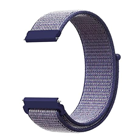 Amazon.com: Compatible Amazfit GTS Band, 20mm Nylon Soft ...