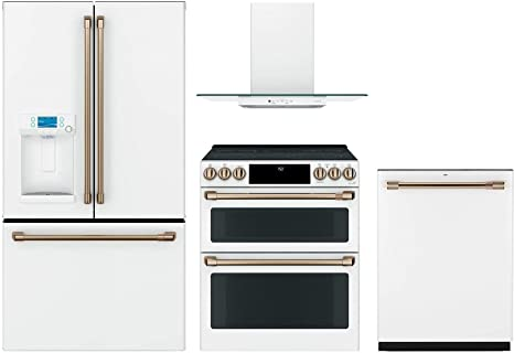 GE Cafe CFE28TP4MW2 refrigerador de puerta francesa de 36 pulgadas ...