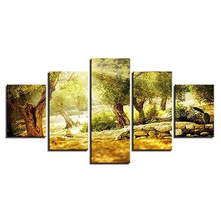 Comecong Pintura Decorativa, Minimalista Moderno Arte en el ...
