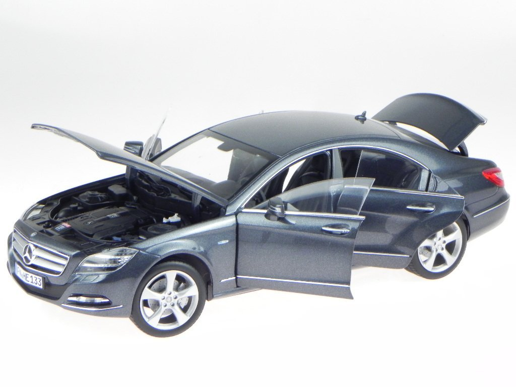 Mercedes C218 CLS 350 tenorit grau 2010 Modellauto 183548 Norev 1:18