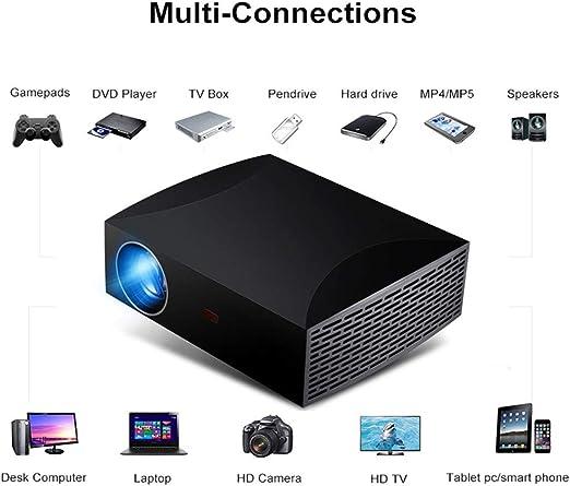 Mini Proyector 3D, HD1920 * 1080P 4200 lúmenes Tamaño de Imagen ...