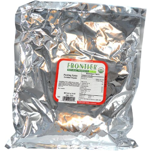 Frontier Bulk Pickling Spice, CERTIFIED ORGANIC, 1 lb. package