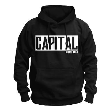CAPITAL Bra Bold Logo Kapuzenpullover Hoodie