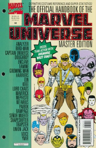 Official Handbook of The Marvel Universe Master Edition #32