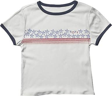 Roxy Americana Stars and Stripes - Camiseta para mujer: Amazon.es: Ropa y accesorios