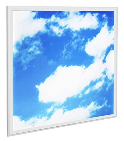 40w sky led ceiling panel 600 x 600 cloud scene recessed office40w sky led ceiling panel 600 x 600 cloud scene recessed office light with transformer [energy class a ]