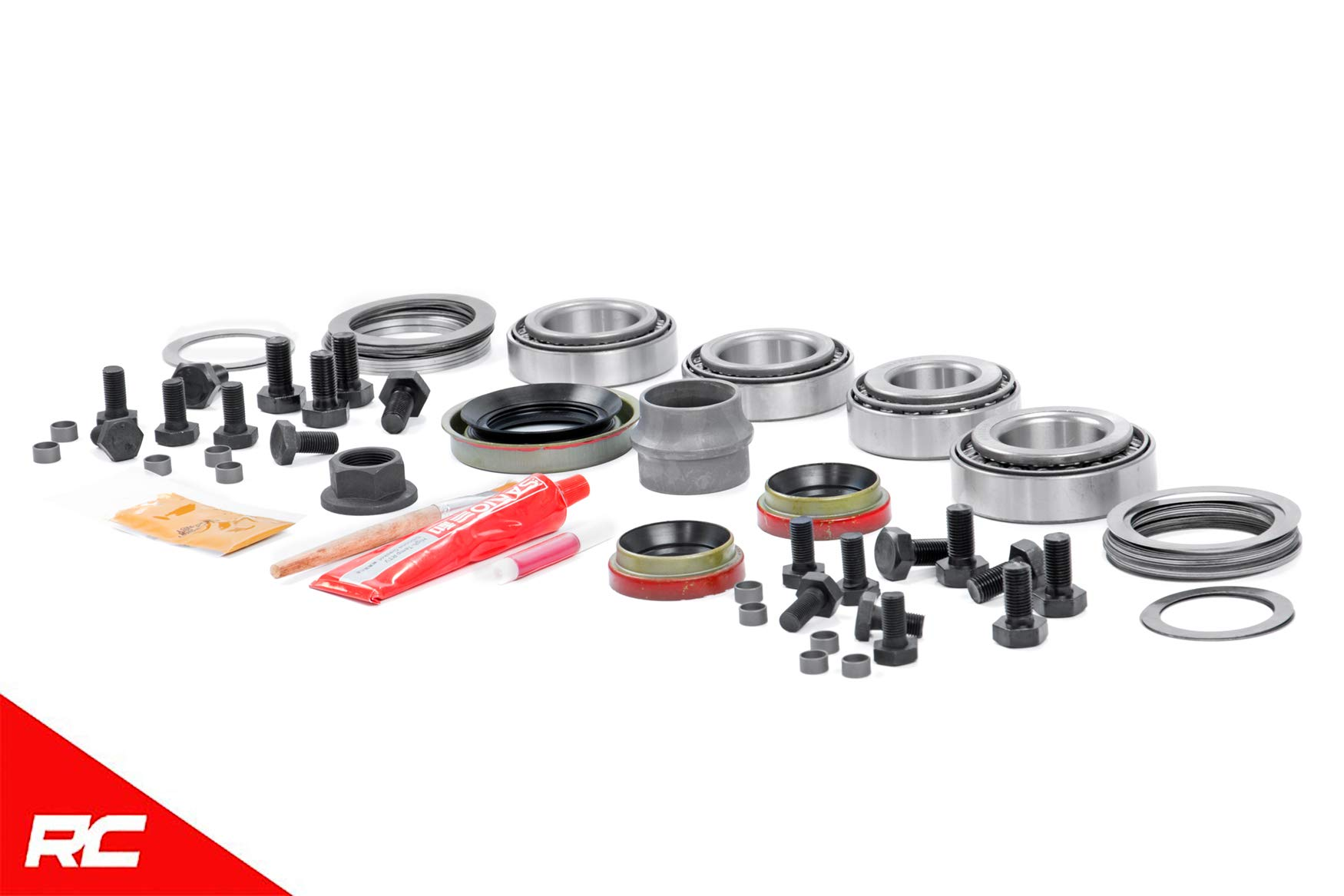 Rough Country Dana 30 Gear Master Install Kit Compatible w/ 1987-1995 Jeep Wrangler YJ 84-01 Cherokee XJ 30 HP 530000356