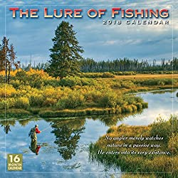 The Lure Of Fishing 2018 Wall Calendar (CA0145)