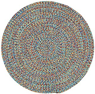 "product image for Capel Sea Pottery Bright Multi 7' 6"" Round Braided Rug"