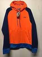 The North Face Men's Burnavy Pullover Fleece Hoodie M, Shocking Orange - CQZ3 20