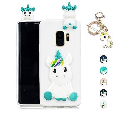 Kawaii-Shop Funda Samsung Galaxy S7 Silicona Cover, Blanco ...