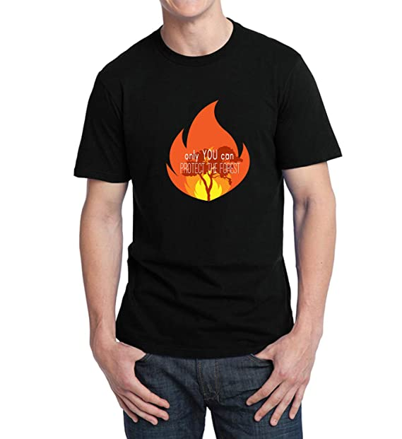 4d7021a6 Amazon.com: You Can Protect Our Forest Fire_003692 T-Shirt Birthday ...