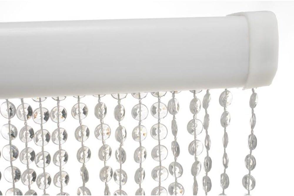 HAB /& GUT T/ürvorhang Mini-DIAMANTEN HELLBLAU//BLAU 90x200 sehr dicht Insektenschutz Perlen Pailettenvorhangg