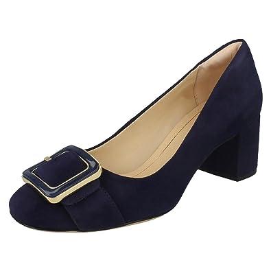 Femme Daim En Habillé Taille Orabella Chaussures Fame Bleu Clarks Yqx5wzXY