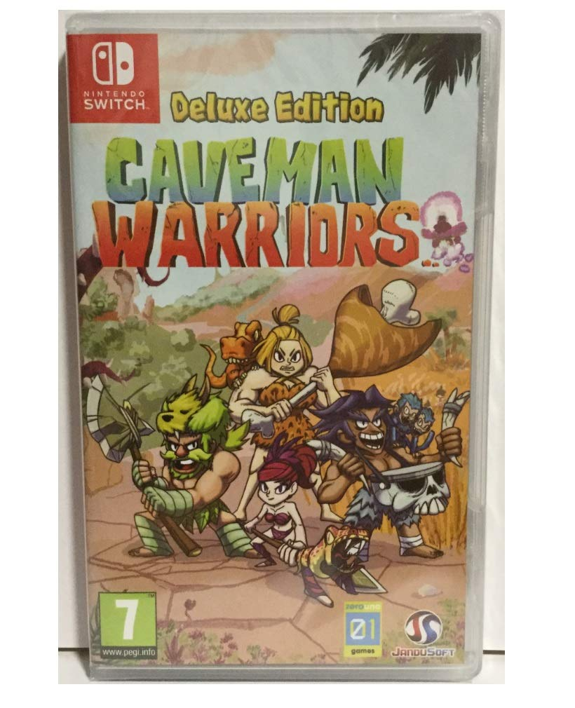 Amazon.com: Unknown Caveman Warriors Deluxe Edition Nintendo ...