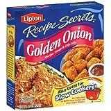 Lipton Recipe Secrets Golden Onion Soup & Dip Mix - 2.6 oz - 12 pk