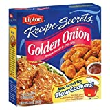 Lipton Recipe Secrets Golden Onion Recipe 2.6OZ (Pack of 24)