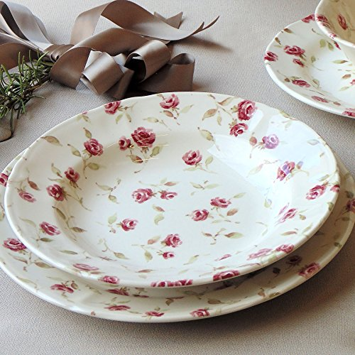 Dinner Service Plates Blanc Mariclo 1-Table floral Full Collection ...