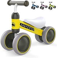 Sawyer - Correpasillos/Bicicleta Sin Pedales - Niños 10 a 24 Meses - Bebes 1 año (Amarillo)