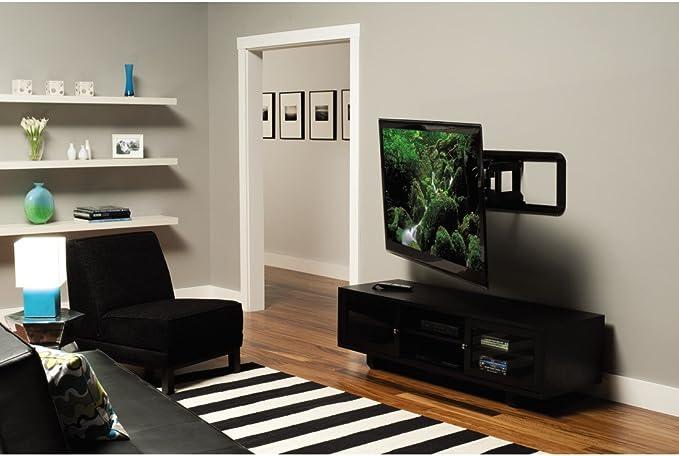 Sanus Tv Wandhalterung Vlf320 Für 94 175cm 37 70 Zoll Fernseher Fix Max 56 70 Kg Schwarz Heimkino Tv Video