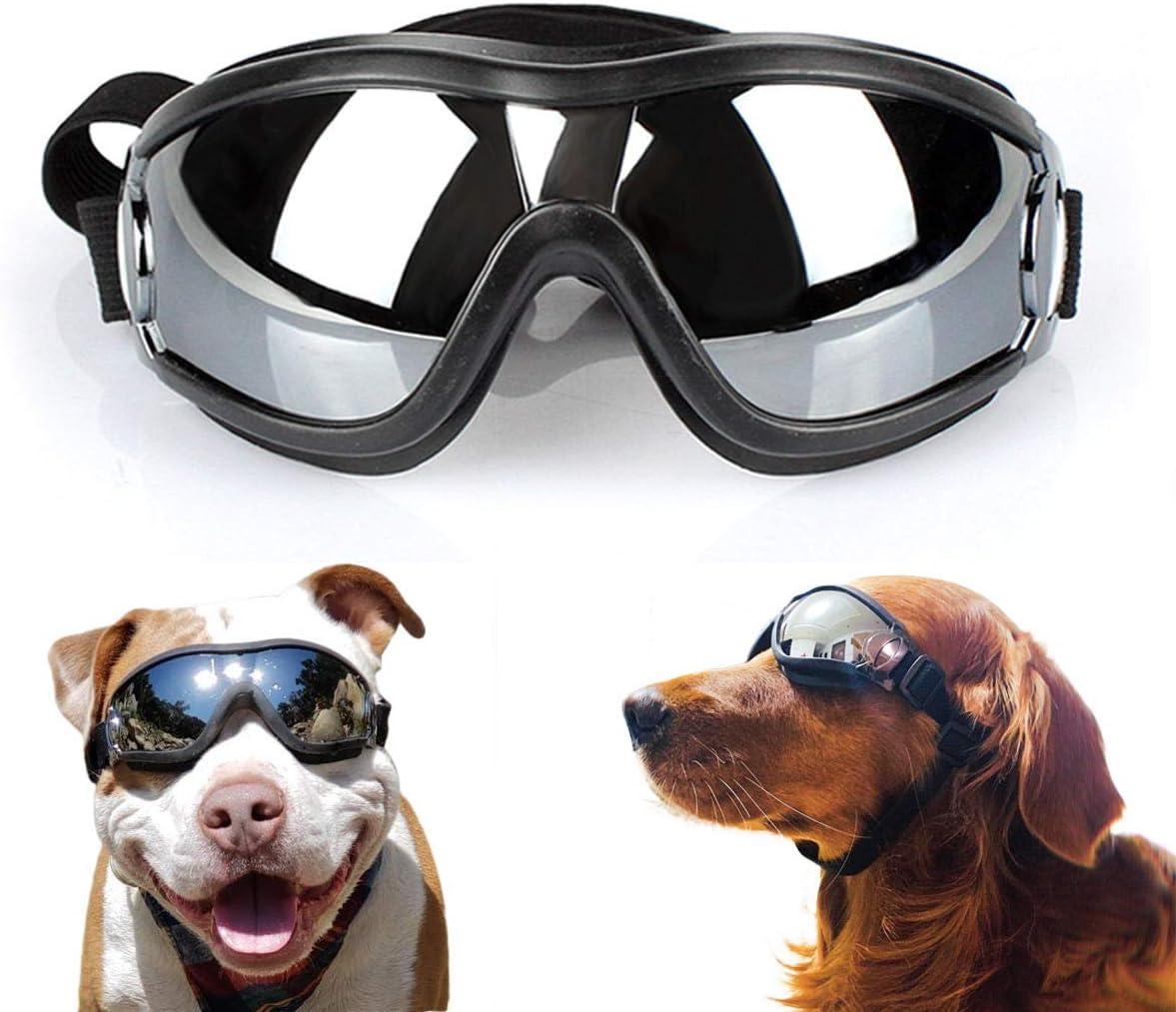 Namsan - Gafas de sol para perros, netivas para mascotas, resistentes al agua y al viento, para perros grandes y medianos