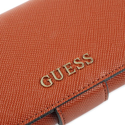 GUESS Aria File Embrague Cognac
