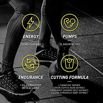 Cellucor C4 Ripped Pre Workout Powder Energy Drink for Men Women with Green Coffee Bean Extract, Cherry Limeade, 30 Servings