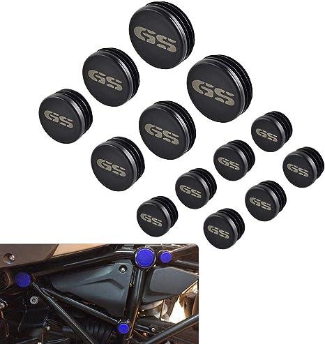 GUAIMI Fender Seat Bolt Screw Nut Kit 1//4-20 Thread for Harley Davidson Sportster Touring Electra Glide Street Glide 1996-2020 Skeleton Skull-Black